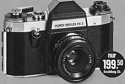 PORST REFLEX FX3
