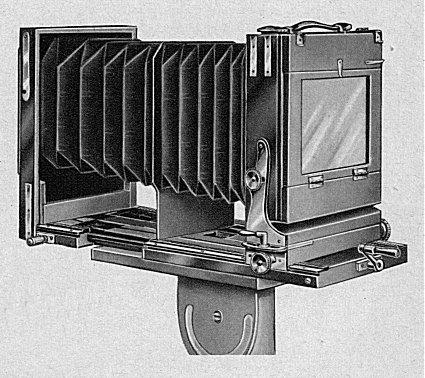 Mahagoni Reisekamera 9x12 und 13x18