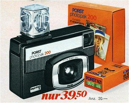 PORST photopak 200 - Komplettausrüstung