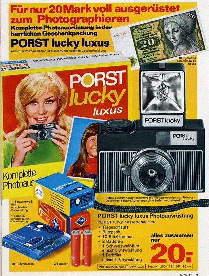 PORST Lucky luxus Komplettset